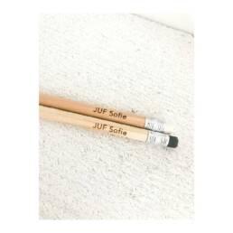 Gepersonaliseerde potloden